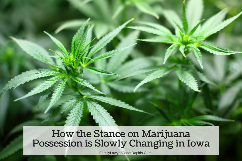 How the Stance on Marijuana Possession is Slowly Changing in Iowa
