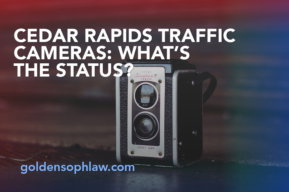 Cedar Rapids Traffic Cameras: What's the Status?